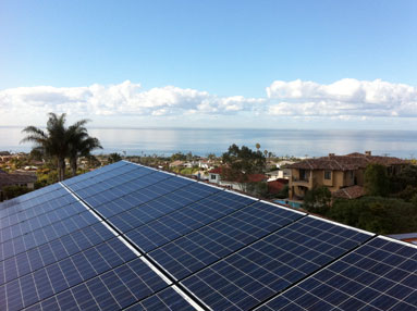 San Diego Solar Power Panel